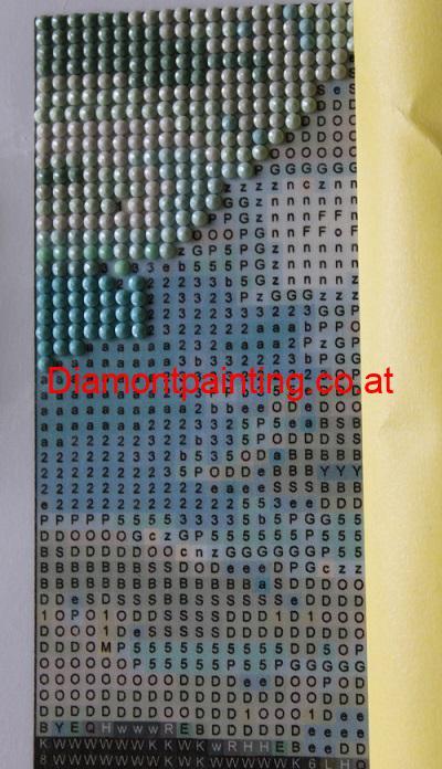 Diamond Painting - Malen nach Zahlen mit kleinen Diamanten